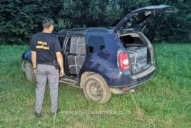 Săpânța: Țigări de contrabandă descoperite într-un autoturism