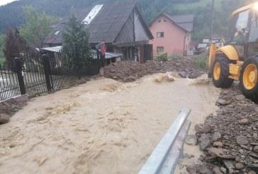 AVERTIZARE HIDRO – Pericol de inundații pe râul Vișeu