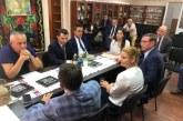 Prefectul Vlad Duruș, discuții în Ucraina despre podul peste Tisa