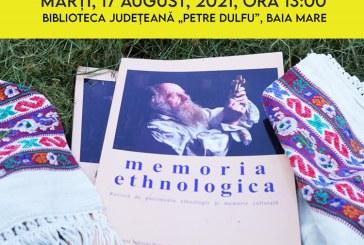 Se lansează un nou număr al revistei Memoria Ethnologica