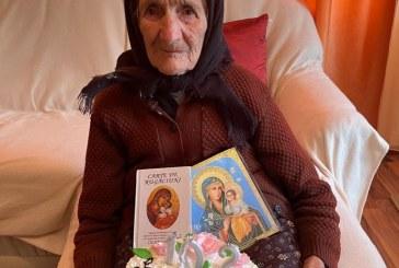 CERNEȘTI – O femeie din satul Fînațe a împlinit 102 ani