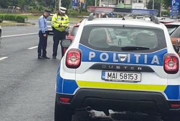 POLIȚIE PESTE TOT – Sute de amenzi aplicate șoferilor prinși cu baiuri în trafic