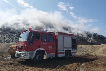 INCENDIU GROAPA ARAD – Primăriile din Maramureș anunțate că nu se mai ridică gunoiul