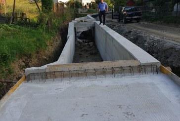 MOISEI – Lucrări de apărare împotriva inundațiilor pe Valea Secăturii