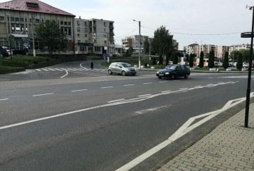 BAIA SPRIE – Sens giratoriu pe DN18 și drumul Cavnicului în zona Lidl