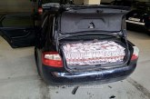DN18 – Mașină plină cu țigări găsită abandonată în Vișeu de Sus