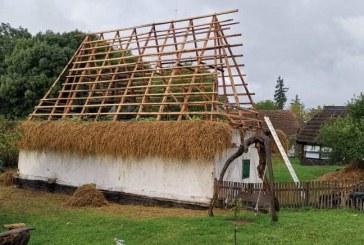 Lucrări de restaurare la Muzeul Județean de Etnografie și Artă Populară Maramureș