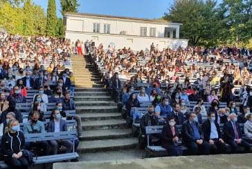 Centrul Universitar Nord: S-a deschis noul an universitar, la teatrul de vară din Baia Mare (FOTO)