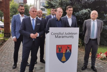 """Florin Cîțu în Baia Mare: """"Voi cere o discuție politică cu toate partidele despre independența energetică a României"""" (VIDEO)"""