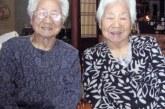 Cei mai în vârstă gemeni identici din lume sunt două japoneze de 107 ani