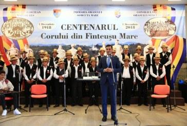"""Corul Bărbătesc din Finteușu Mare a primit de la Klaus Iohannis Ordinul """"Meritul Cultural"""" cu grad de """"Cavaler"""""""