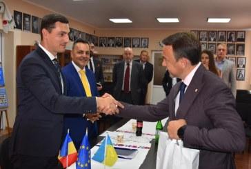 Ionel Bogdan, vizită în Ucraina: S-a discutat și despre realizarea podului peste Tisa