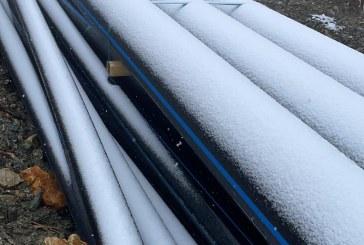 VINE IARNA – Primul strat de zăpadă s-a depus la Borșa