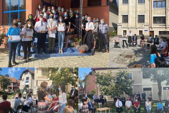 Au fost premiați absolvenții din Maramureș care au obținut media 10 la examene