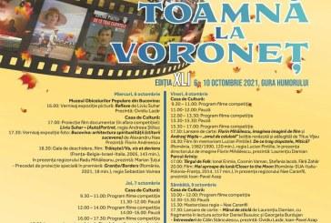 """Maramureșul, finalist în cadrul Festivalului Internațional de Film, Diaporamă și Fotografie """"Toamnă la Voroneț"""""""