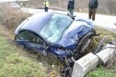 Un maramureșean rupt de beat a intrat cu mașina într-un cap de podeț