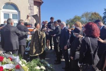 Profesorul George Achim a fost înmormântat (FOTO)