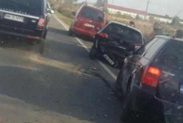 BAIA MARE – Trei mașini implicate într-un accident pe strada Europa