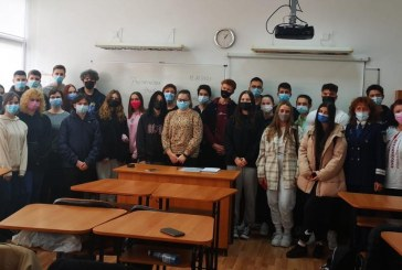 30 de elevi de clasa de la Colegiul Național Mihai Eminescu Baia Mare au aflat ce este traficul de persoane